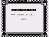 Alien Mind ZX81 Getting a code for next level