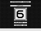 Concentration / Number Challenge / Word Challenge ZX81 Number Challenge: Memorise the sequence.