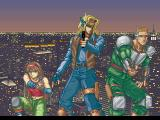 Elevator Action 2 SEGA Saturn Intro showing the selectable characters