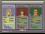 Elevator Action 2 SEGA Saturn Character selection
