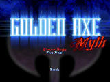 Golden Axe Myth Windows Title screen