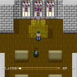 Lagoon Sharp X68000 Church, notice the crucifix on the altar, it was removed from both the Japanese and English SNES versions
