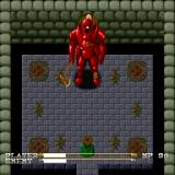Lagoon Sharp X68000 First boss Samson, the combat in this version is closer to Ys style - just hold down the attack button and ram into an enemy, as a result it plays much better than the SNES version