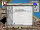 Avernum: Escape From the Pit Windows Dialogue options in a conversation with a shopkeeper.