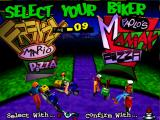 Radikal Bikers Arcade Select your Biker.
