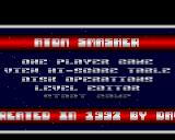 Atom Smasher Amiga Title screen
