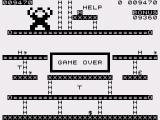 ZX80 Kong ZX81 Game over