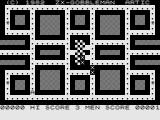 Gobbleman ZX81 Eat the dots.
