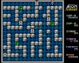 Atom Smasher Amiga A tough, maze like level