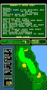NES Open Tournament Golf Arcade Hole One.