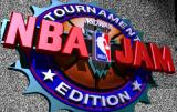 NBA Jam Tournament Edition Arcade Title Screen.