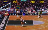 NBA Jam Tournament Edition Arcade A high jump.