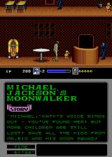 Michael Jackson's Moonwalker Arcade There's a child.