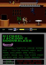 Michael Jackson's Moonwalker Arcade Kick them.