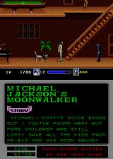 Michael Jackson's Moonwalker Arcade Another goon to hit.