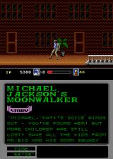 Michael Jackson's Moonwalker Arcade Cool move.