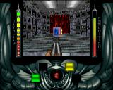 Alien Breed 3D Amiga Level 4 - The Courtyard