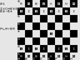 ZX Chess I ZX81 Lets play Chess.