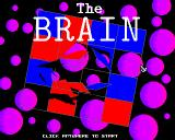 The Brain Amiga Title screen