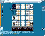 BCastle Amiga The program displays all possible moves
