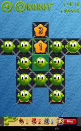 Peg Solitaire Saga Android To win this level, you not only need to remove a given number of pegs, the remaining pegs must be on specific squares (different squares, depending on how many pegs are left.)