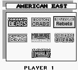 Roger Clemens' MVP Baseball Game Boy American East...