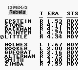 Roger Clemens' MVP Baseball Game Boy New York Rebels. Wuzz upp Zimba?
