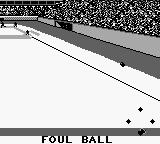 Roger Clemens' MVP Baseball Game Boy Foul ball... pretty boring.