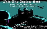 Into the Eagle's Nest DOS Title Screen (CGA)