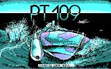 PT-109 DOS Title screen (CGA)