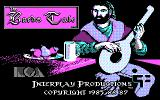 Tales of the Unknown: Volume I - The Bard's Tale DOS Title screen (CGA)