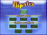 Flipster Windows The game's main menu lays out all the available game combinations. The Options sub menu allows the player to toggle the games music and the game's sound effects