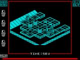 Nuclear Countdown ZX Spectrum Game starts