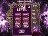 Crystal Wizard Windows This shows the bonus level menu. Each is a single level game with different rules/objectives