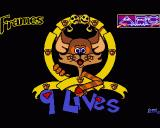 9 Lives Amiga Title Screen