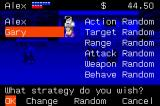 River City Ransom Game Boy Advance Setting up fighting tactics for our ally.