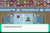 Pokémon Emerald Version Game Boy Advance Battle Dome: Tournament victory