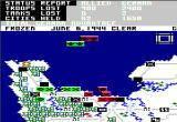 Crusade in Europe Apple II D-Day 128k Version (daytime)