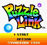Puzzle Link Neo Geo Pocket Color Title screen