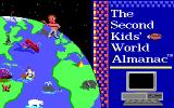 The Second Kids' World Almanac Adventure DOS Title screen (EGA)