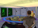 Star Wars: Force Commander Windows Imperial briefing room. Note your objectives on the holomap.