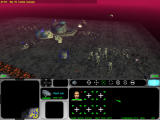 Star Wars: Force Commander Windows Anti-aircraft guns open fire at enemy airspeeders.