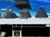Star Wars: Force Commander Windows Landing on Hoth. Every single unit enters the battlefield via airdrop.