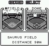 Baseball Stars Neo Geo Pocket Ground select