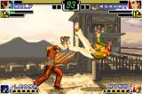 The King of Fighters EX: Neo Blood Game Boy Advance Ralf's special attack