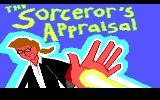 The Sorceror's Appraisal DOS Title screen