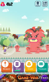 Pocket Wizard: Magic Fantasy! Android A rather angry looking beast!