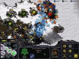StarCraft: Brood War Windows Terran and Zerg air forces battle over the Tundra