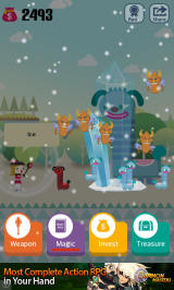 Pocket Wizard: Magic Fantasy! Android That long-necked giraffayena is in for a frigid surprise!