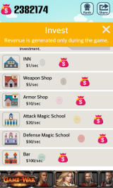 Pocket Wizard: Magic Fantasy! Android Investments returning